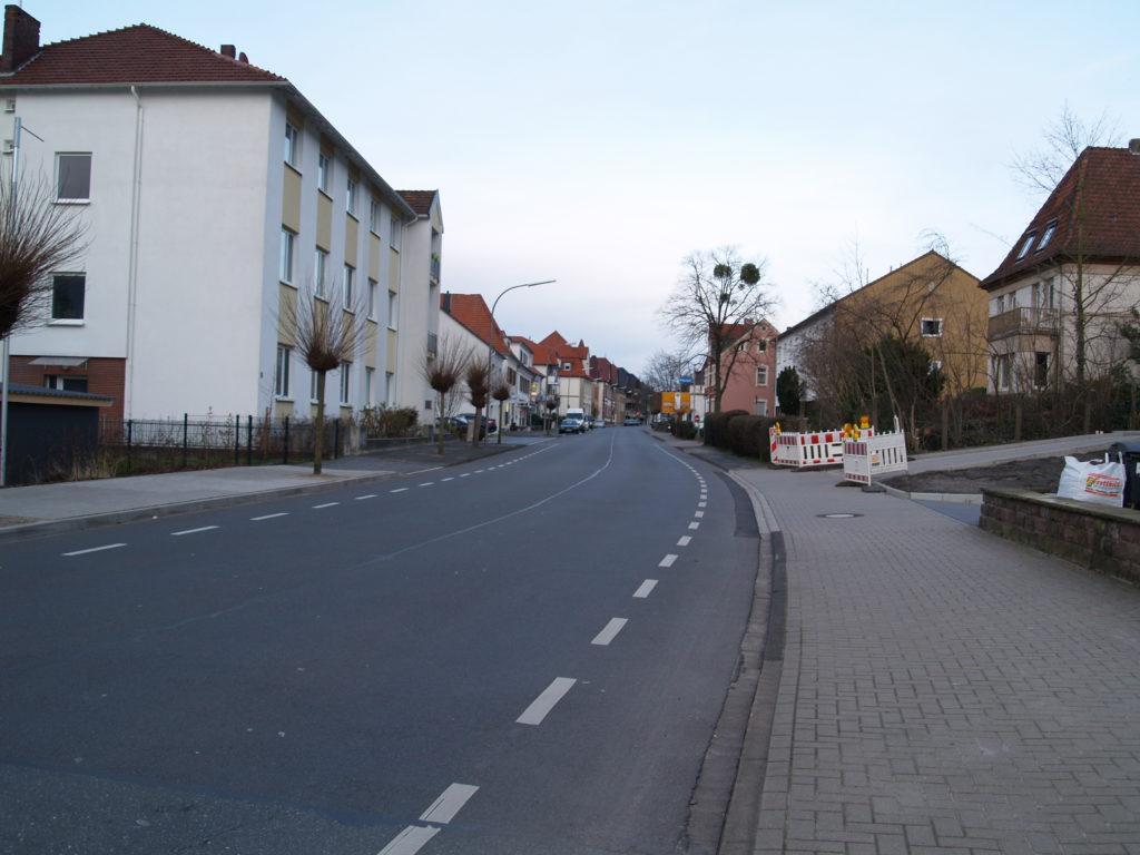 Osnabrücker Straße am 01.03.2020. Foto: J. Weidner/IpF